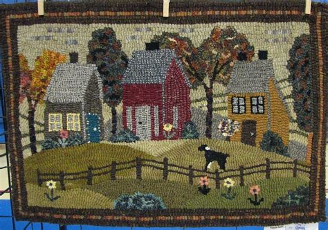 searsport rug hooking designed by searsport rughooking hooked by andrea allen hooked on wool