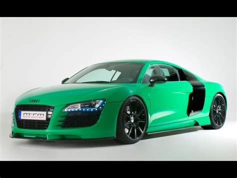 porsche audi 2009 mtm audi r8 in porsche green wallpapers by cars