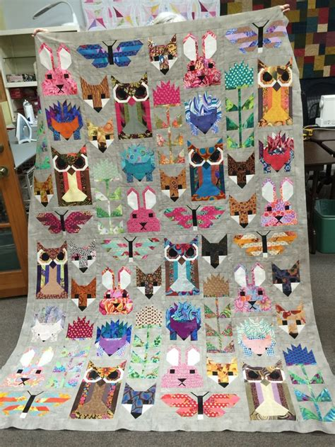 Patchwork Animal Patterns - 5888 best quilt mania images on quilting ideas