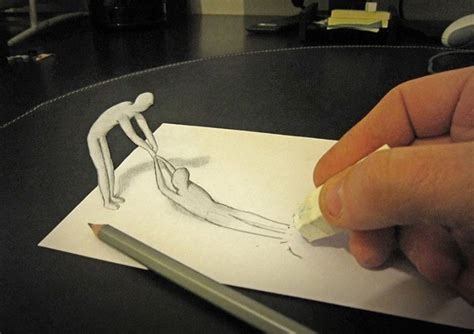 cool 3d pencil drawings amazing 3d pencil drawings with a life of their own