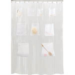 shower curtain with pockets photo pocket shower curtain