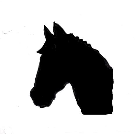 printable stencils of horses free printable horse head stencils clipart best