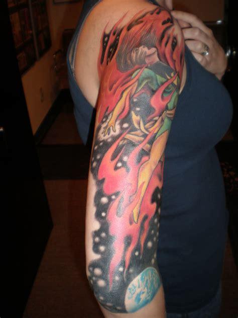 tattoo phoenix oregon comic book tattoos at san diego comic con international