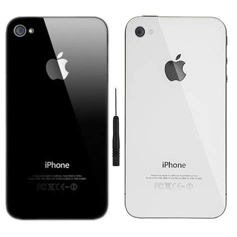 For Iphone 4 4s replacement rear glass for iphone 4 4s