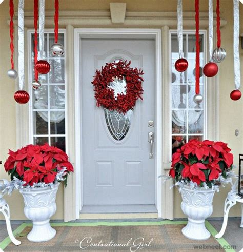 front door christmas decorations ideas 25 beautiful christmas door decorating ideas for your