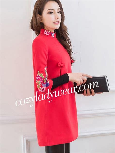 Embroidered Sleeve Cheongsam embroidered sleeve qipao cheongsam dress