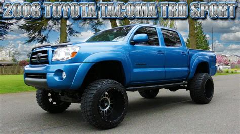 Tacoma Mba Built Green by 2008 Toyota Tacoma Trd Sport 4x4 Northwest Motorsport