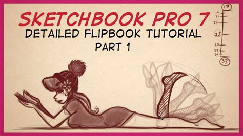 sketchbook pro tutorials sketchbook pro flipbook animation tutorial part 1 by