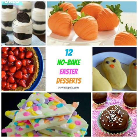 easter desserts 12 no bake easter desserts