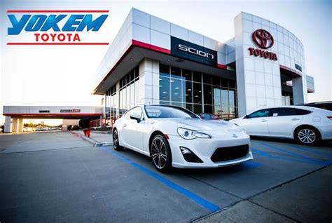 Yokem Toyota Shreveport Yokem Toyota Scion Car Dealership In Shreveport La 71105
