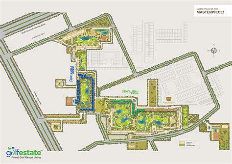 estate layout plan land registry m3m golf estate master plan sector 65 gurgaon