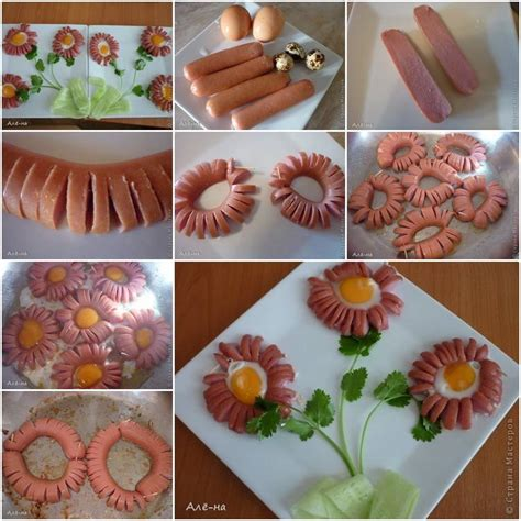 diy flower food diy hot dog daisy thumb