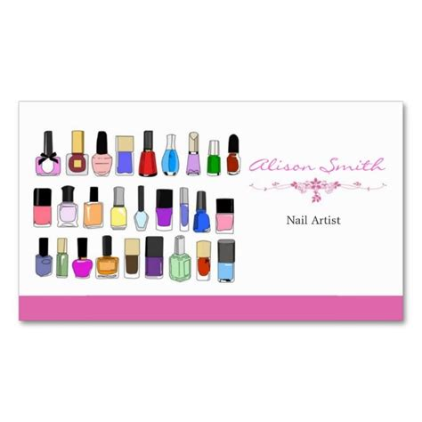 nail business cards templates 1938 best nail technician business cards images on