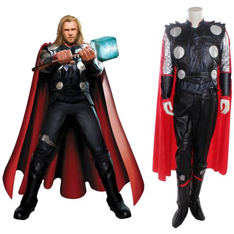 movie quality thor costume cosplaydiy men s ourtfit movie thor costume outfit super