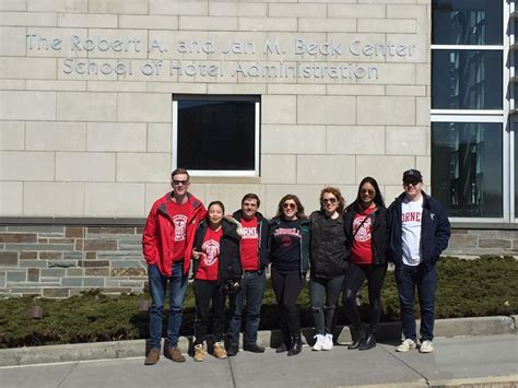Cornell Hospitality Management Mba by Hac Guelph Chapter Exec Team Tour Cornell