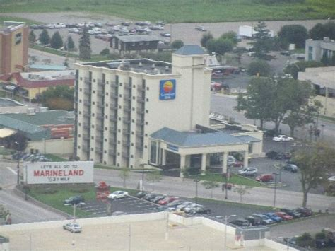 comfort inn niagra falls view from my room 8th floor picture of comfort inn