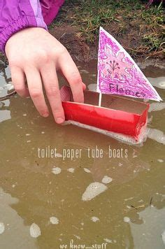 how to make a boat out of toilet paper roll how to make a toy boat crafts boats and toys