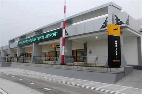Layout Bandara Adi Sucipto | aktivitas bandara adi sutjipto menurun