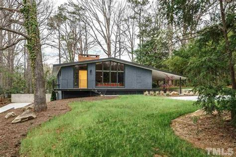 modern home design raleigh nc renovated midcentury in north carolina asks 975k curbed