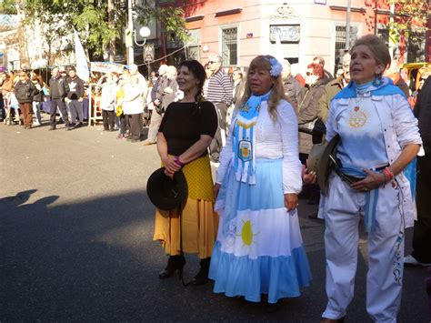 gaucho dancing and flag day in argentina