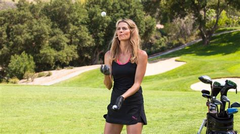 model golf swing watch the sexiest shots in golf get to know pro golfer