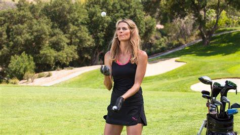 model golf swing get to know pro golfer and model anna rawson golf digest