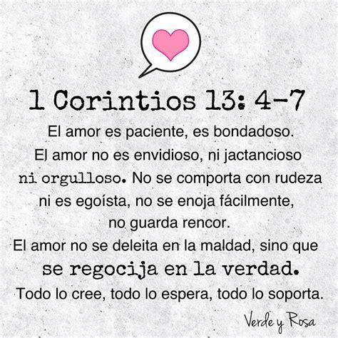 imagenes de amor verdadero cristiano 1 corintios 13 4 7 el verdadero amor frases pinterest