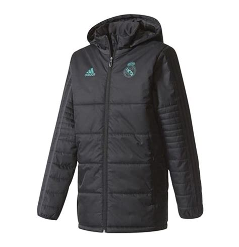 Parka Bola Real Madrid Army 2017 2018 real madrid adidas padded winter jacket black for only c 221 31 at