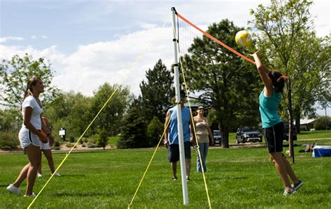 volleyball net for backyard park and sun sports number 1 rated portable outdoor volleyball sets badminton sets