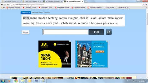 blogger game indonesia adrian punya blog game 10fastfingers indonesian