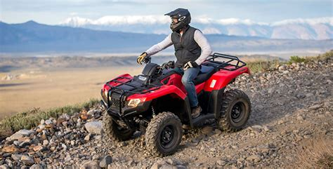 2017 honda fourtrax 174 rancher 174 4x4 es atvs louisville