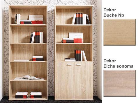 bücherregal aus massivholz b 252 cherregal mit t 252 ren bestseller shop f 252 r m 246 bel und