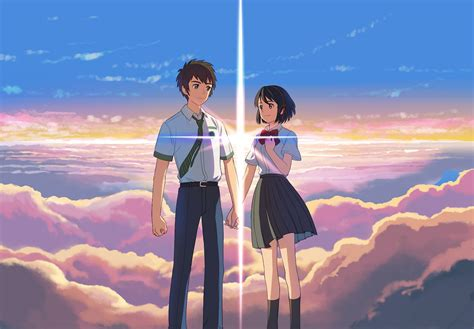 anime in your name stunning visuals and grown up themes in the switching