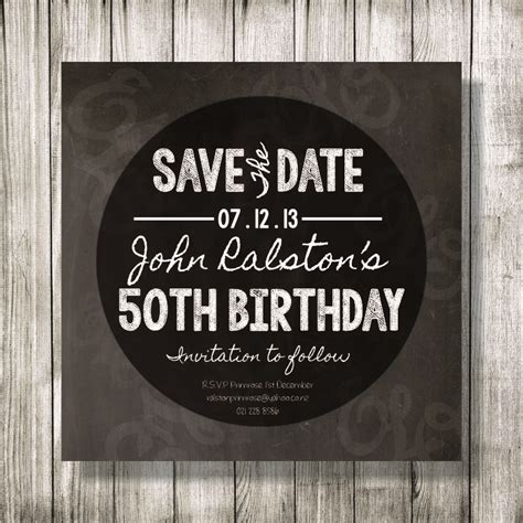 Save The Date Birthday Imvitation Designed By Shayden Whipps Http Helloimshayden Blogspot Birthday Save The Date Templates Free