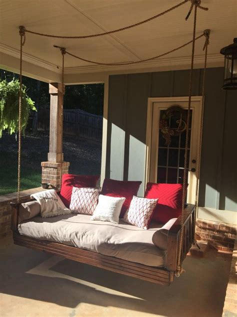 Patio Swing That Turns Into Bed 448 Best Images About Porch Swings On