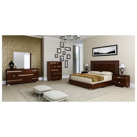 king bed dimensions usa athome usa vobnolt02 walnut lacquer volare king size bed
