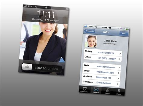 interesting best iphone business card app creative business cards