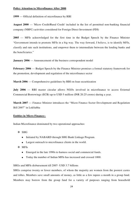 Microfinance Project Report For Mba Pdf by Microfinance Impact On Poor Rural Empowerment A