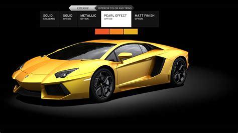 Lamborghini Configure Lamborghini Official Site Html Autos Weblog