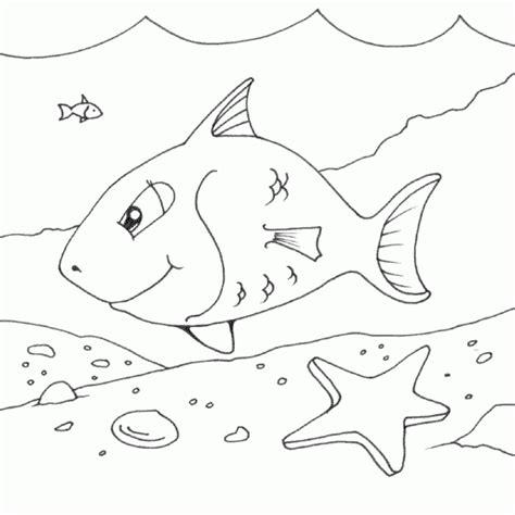 happy fish coloring page happy fish coloring pages printable