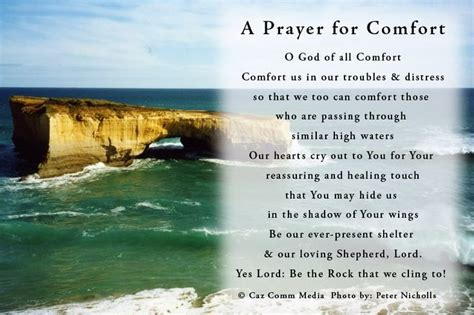 prayer of comfort and peace a prayer for comfort prayer inspiration pinterest