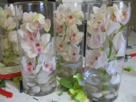 centerpieces with orchids 17 best ideas about submerged centerpiece on