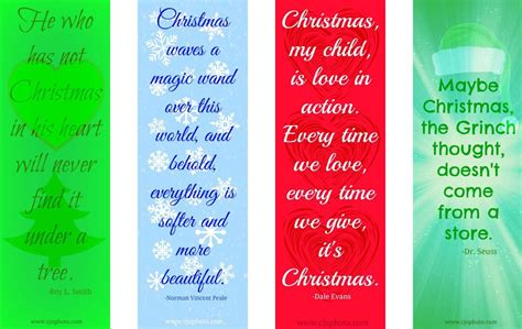 printable bookmarks with quotes pdf cjo photo printable bookmarks christmas quotes