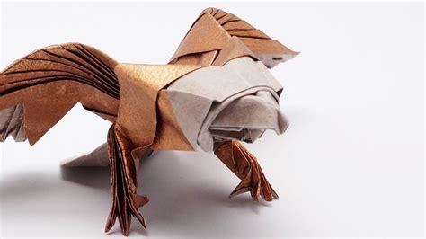 Jo Origami - origami eagle jo nakashima time lapse