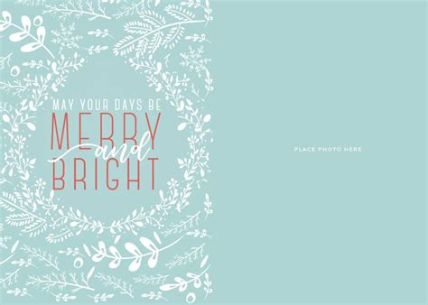 Make Your Own Photo Christmas Cards For Free Somewhat Simple Cards Template