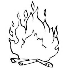 Free Coloring Pages Of Bonfire Bonfire Colouring Pages