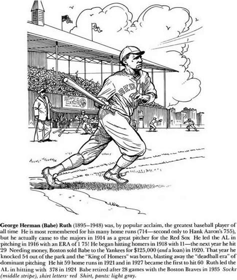 how to draw babe ruth