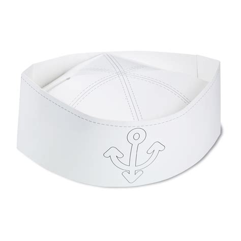 How To Make Sailor Hats Out Of Paper - 4imprint paper sailor hat 113611 imprinted with your