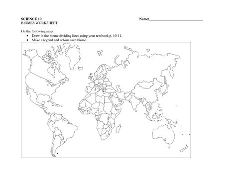 biome map coloring world biome map worksheet sketch coloring page