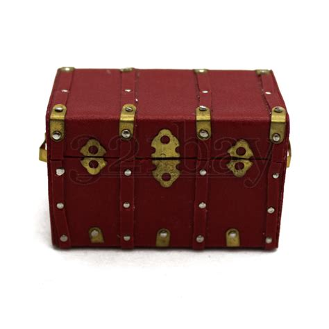 miniatures g dollhouse dollhouse and miniatures wooden chest trunk miniature